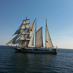 Polish Tallship Polgoria