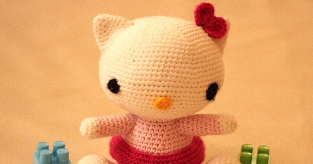 Crochet Doll Hat Pattern Free : Hunerlerimiz: Amigurumi Hello Kitty Yapilisi