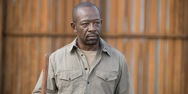 The Walking Dead 6x02 -  'JSS'  Morgan Jones ( Lennie James)