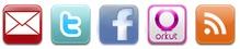 Inserir Botões de Redes Sociais