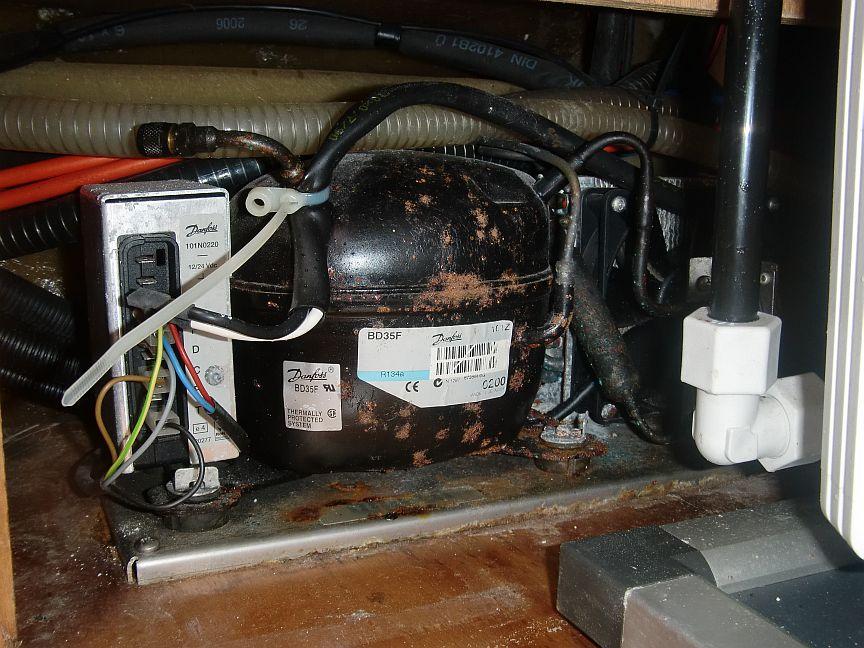 how to fix a fridge compressor