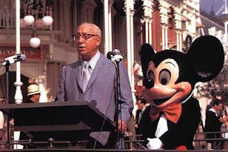 Roy O. Disney em discurso de abertura da Walt Disney World