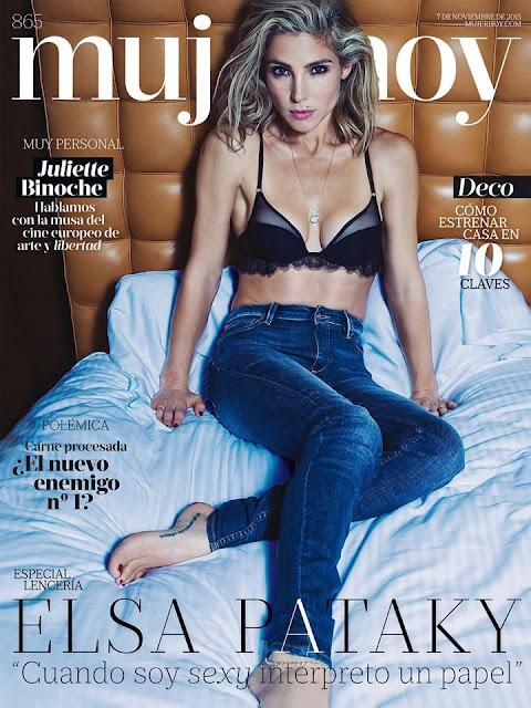 Actress, Model @ Elsa Pataky - Mujer Hoy Spain, November 2015