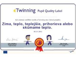Pupil Quality Label SK