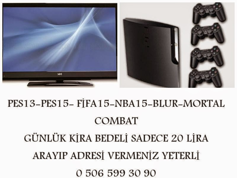 RENTAL PS3 - PLAYSTATİON KİRALAMA