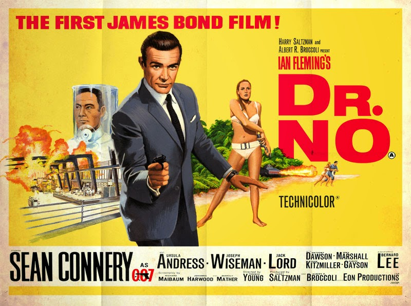illustrated 007 the art of james bond dr no tribute artwork