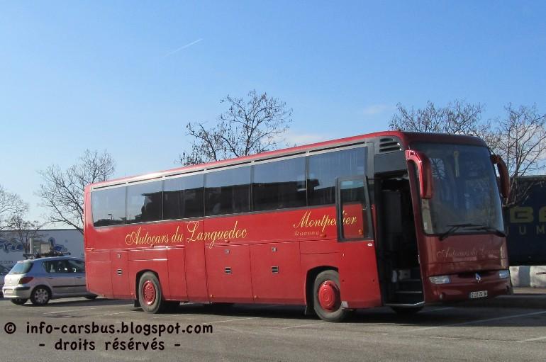info cars bus renault iliade autocars du languedoc 34. Black Bedroom Furniture Sets. Home Design Ideas