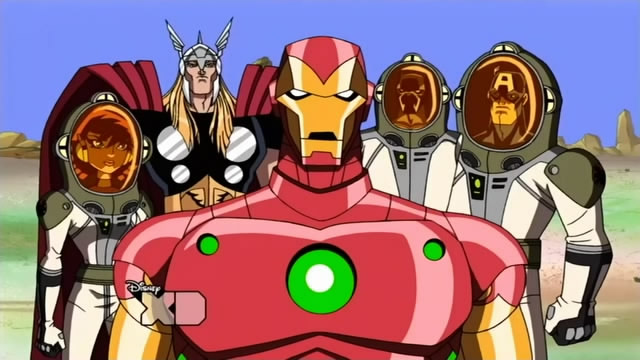 Who does the avengers cartoon theme song