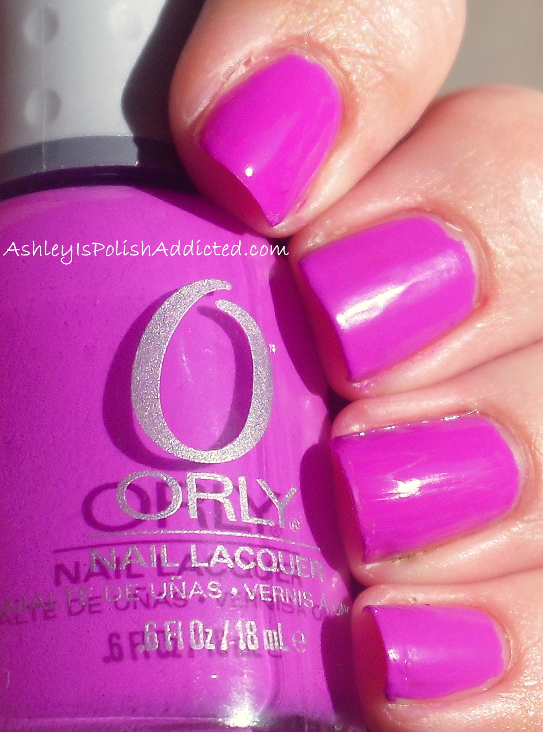 Ashley is PolishAddicted: Orly Frolic - Swatches and Review (and a ...