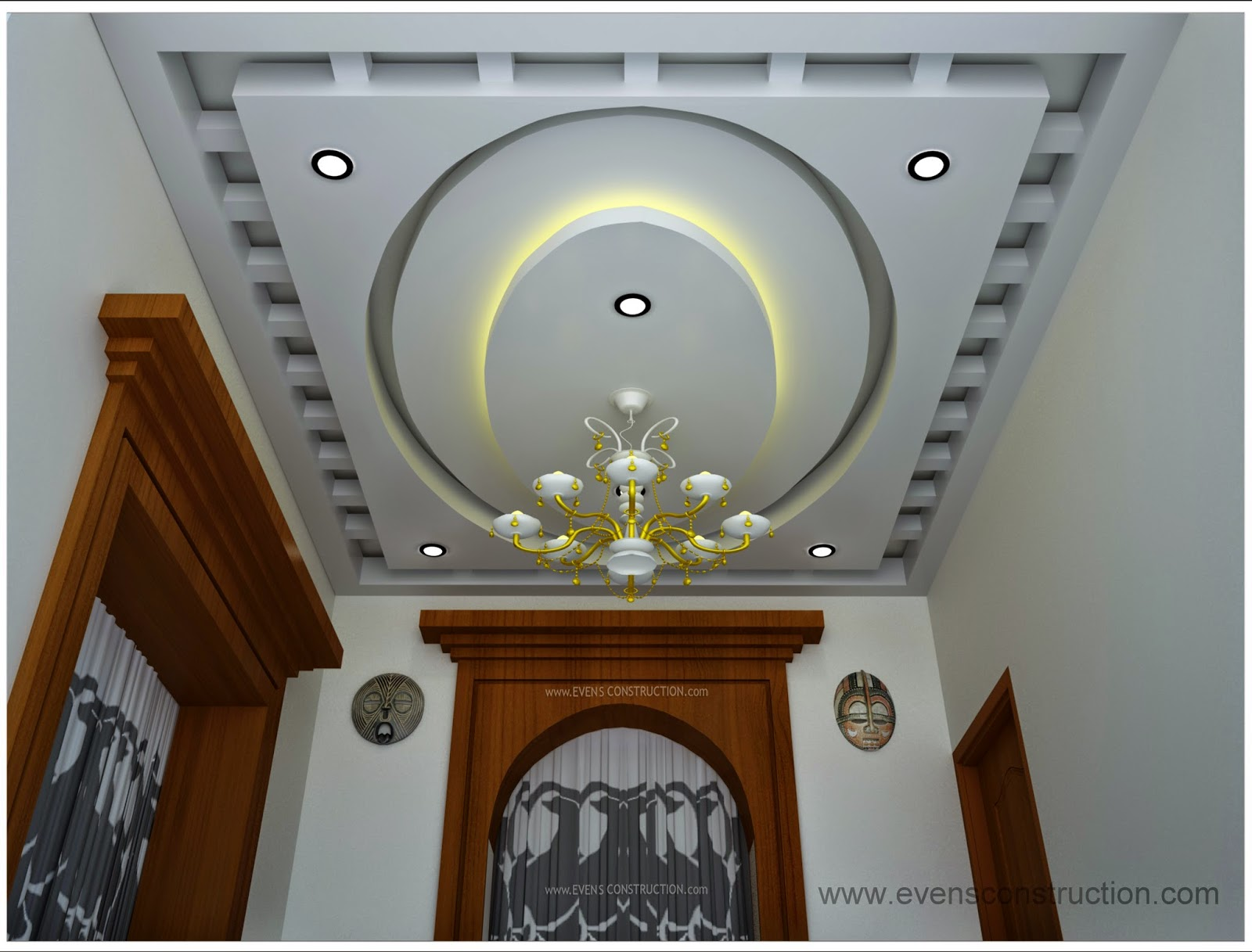 False Ceiling Design Living Room Interiors Pdf
