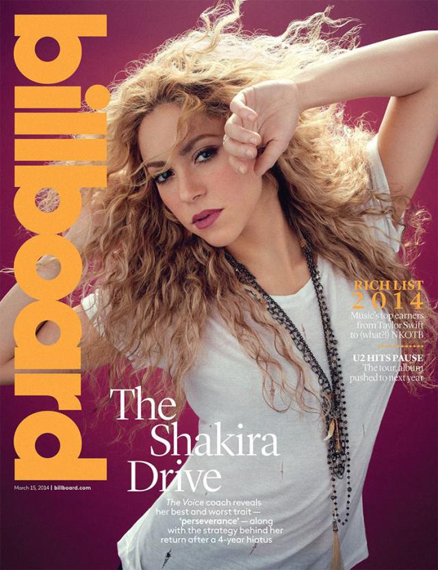 Shakira en Billboard Magazine