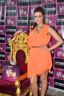 Neha Dhupia unveil the UTV Stars' - Lux The Chosen One show