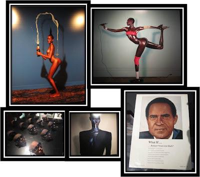 Naomi Campbell jean Paul Goude thatsmee black people Expo Jean Paul Goude Goudemalion Arts Déco Paris