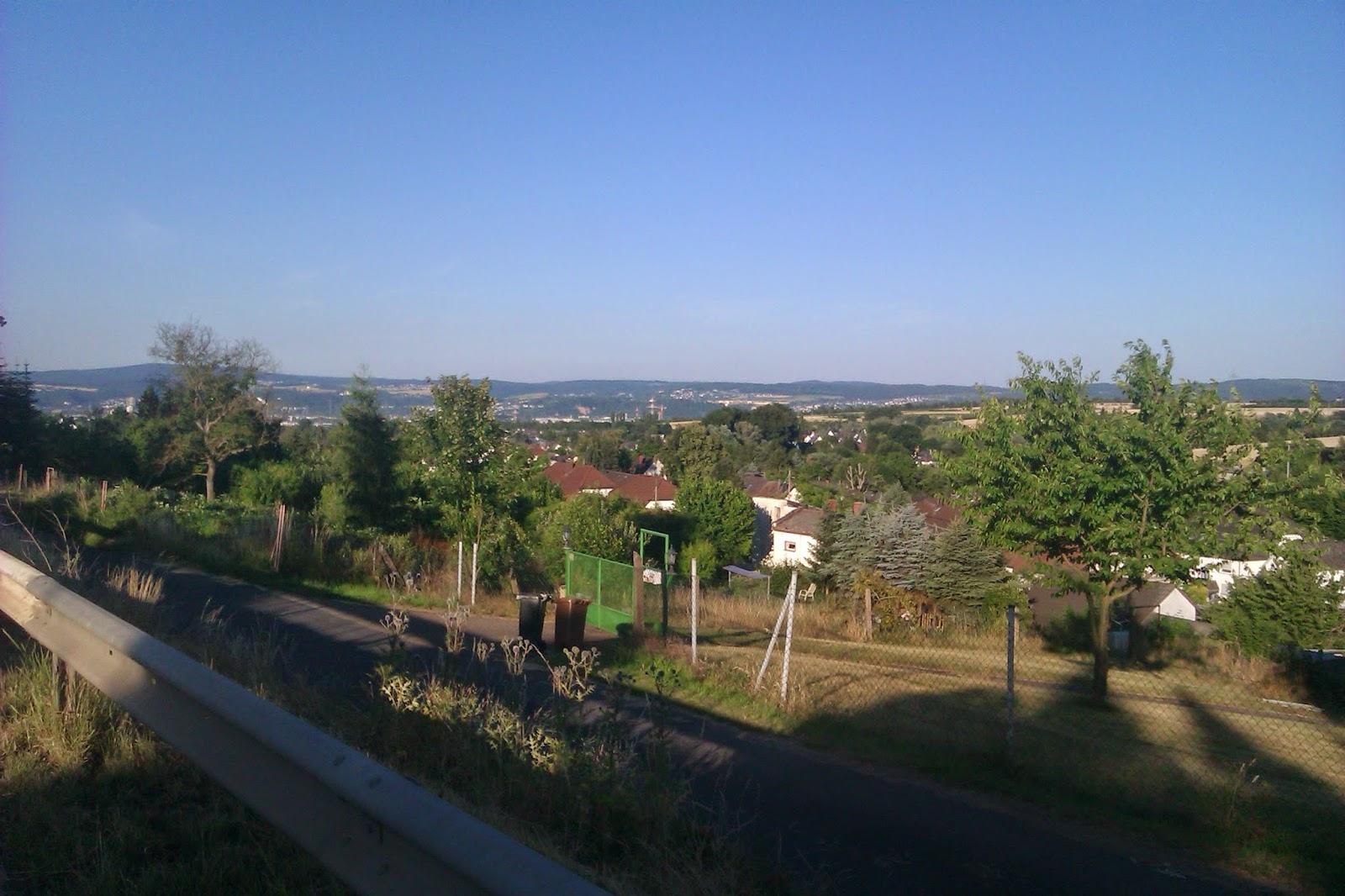 Panorama Schrebergärten