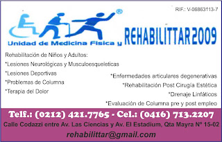 UNIDAD DE MEDICINA FISICA Y REHABILITTAR 2009 en Paginas Amarillas tu guia Comercial