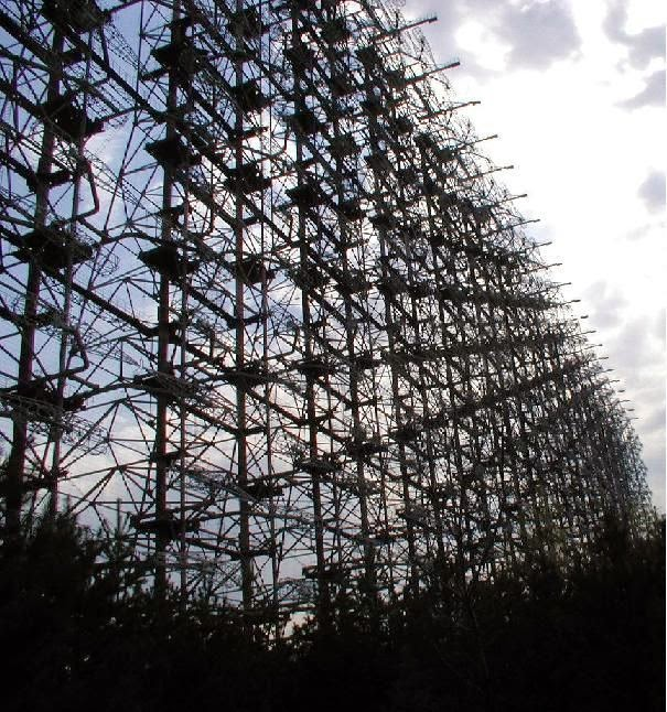 7 megaestructuras del antigua URSS abandonadas Radar+abandonado+pripyat