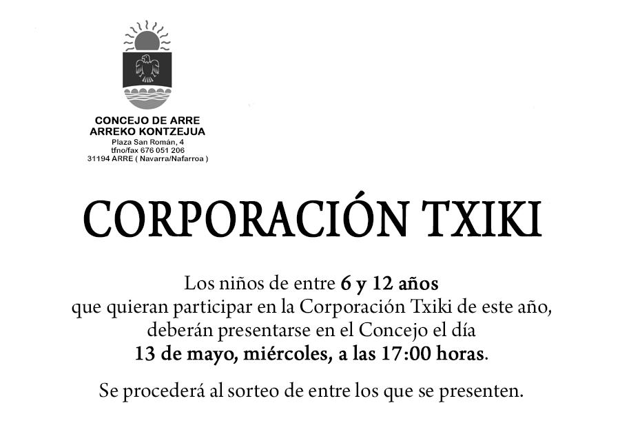 Valle de ezcabarte corporaci n txiki fiestas de arre for Muebles rey arre