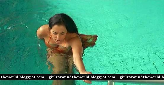 Swetha Menon In Bikini