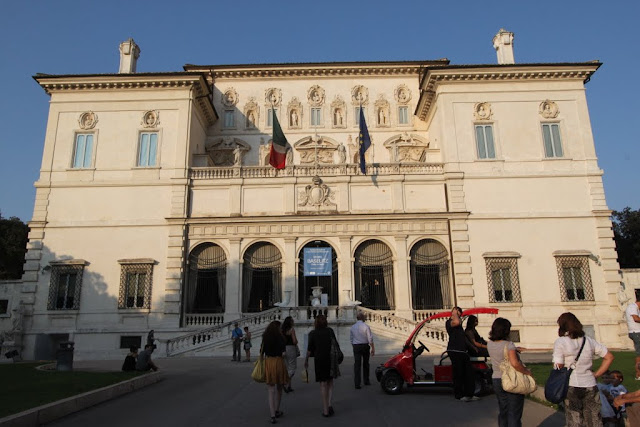 Museo e Galleria Borghese (Villa Borghese Gallery) houses some collection of famous artworks in Rome, Italy