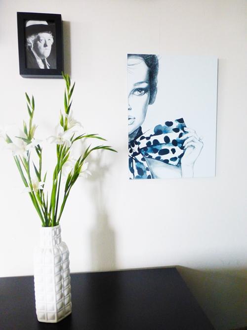 Posseliesje Poster Wandgestaltung Posterlounge Wohnzimmer