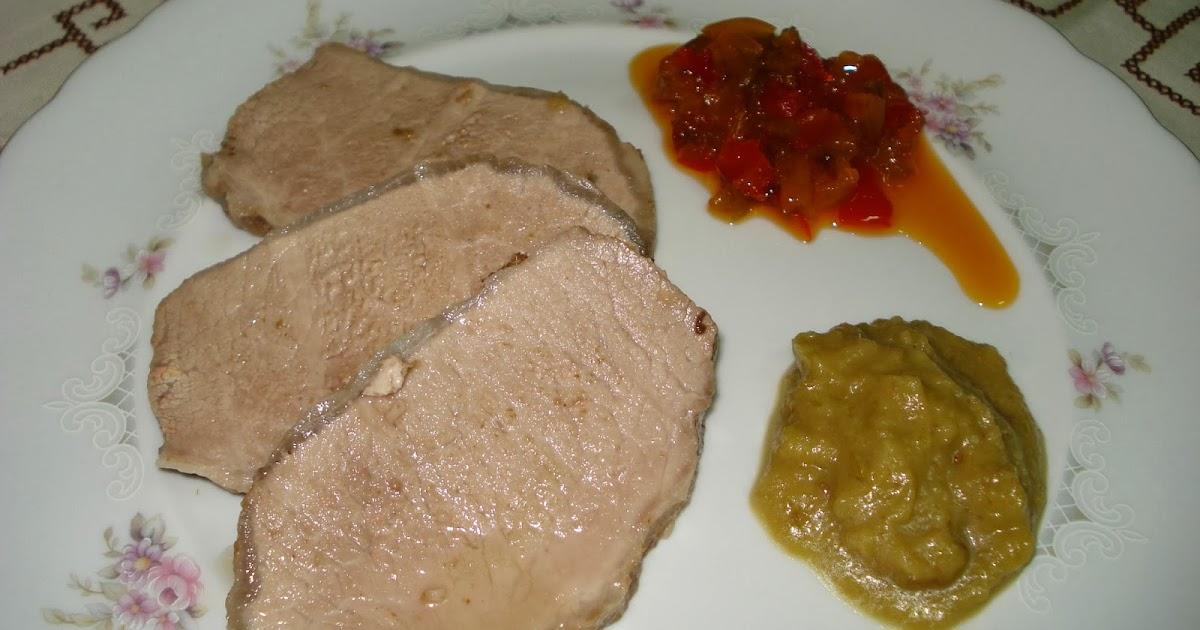Mmm qu delicia lomo de cerdo ib rico al horno Solomillo iberico al horno