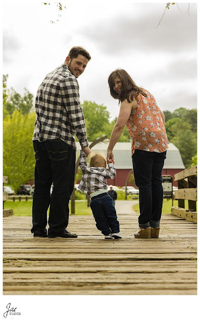 Peaks View Park Outdoor Family Session 1 Year birthday session