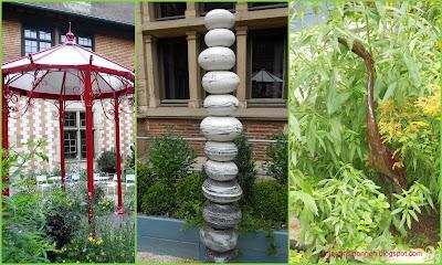 Design Jardin éphémère de l'hôtel Mauroy à Troyes