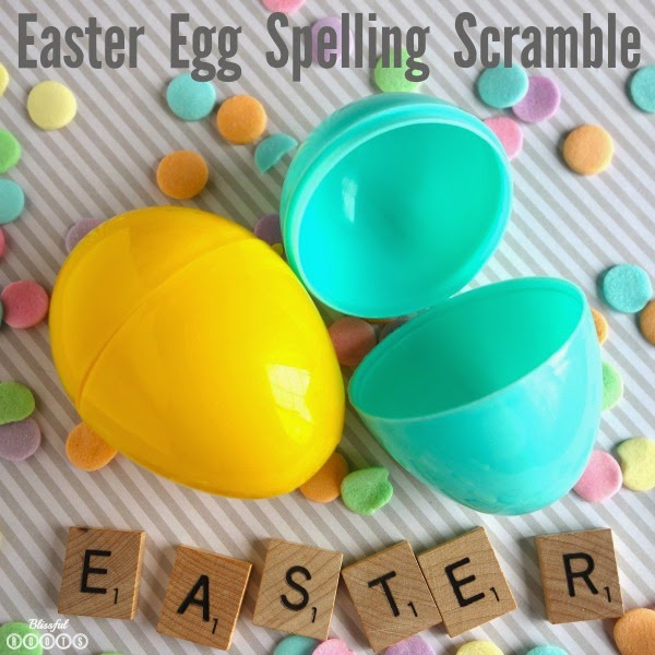 Easter Egg Word Scramble from Blissful Roots