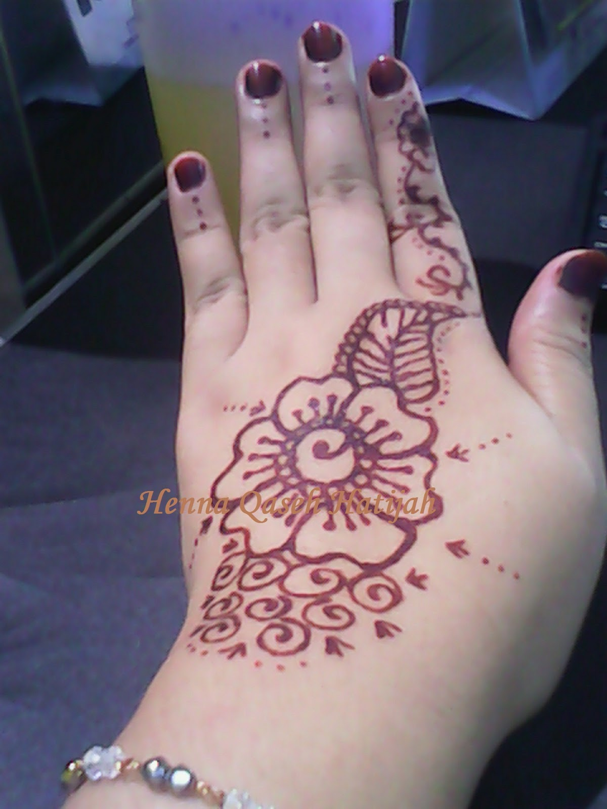 Henna Qaseh Hatijah Ukiran Henna T39baru Dari Qaseh Hatijah