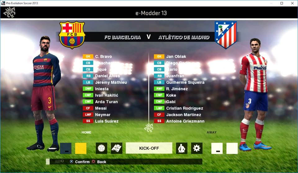 Patch pes 2006 in Pes 2016