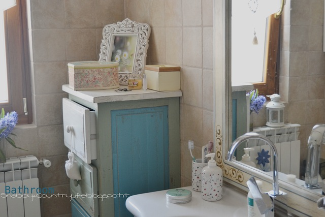 Bathroom - shabby&countrylife.blogspot.it