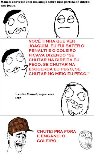 MANOEL NO FUTEBOL