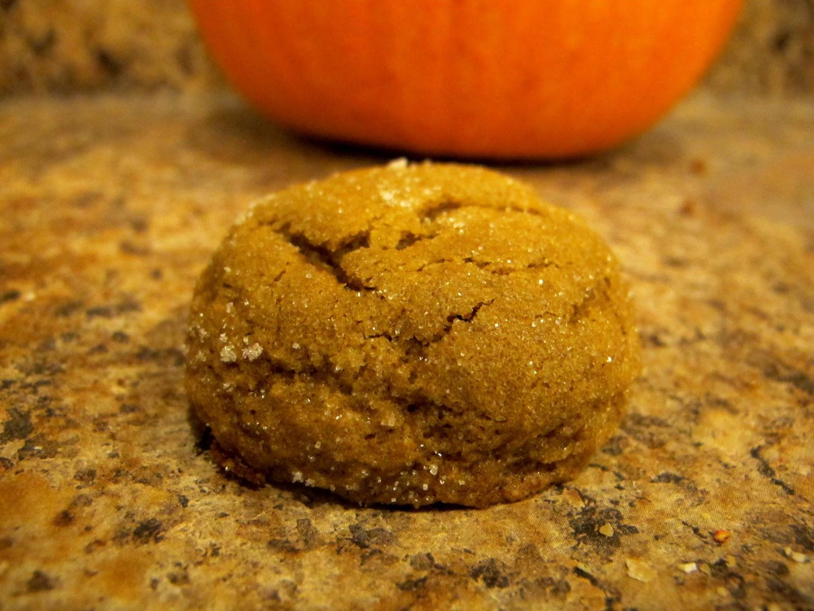 Simply YUM!: Pumpkin Molasses Cookies