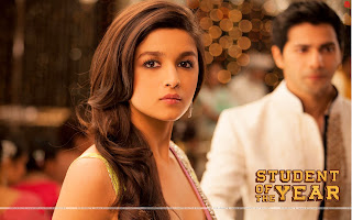 Alia Bhatt close up wallpaper from Student Of The Year