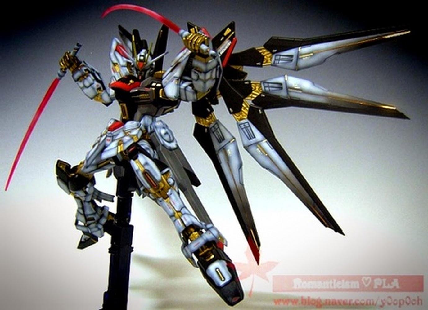 "Custom Build: MG 1/100 Strike Freedom Gundam ""Patchwork ..."