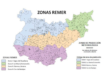 MAPA ZONAS REMER BADAJOZ