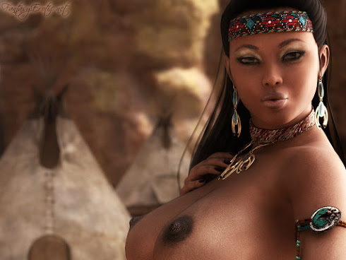 Sexy Native American Woman