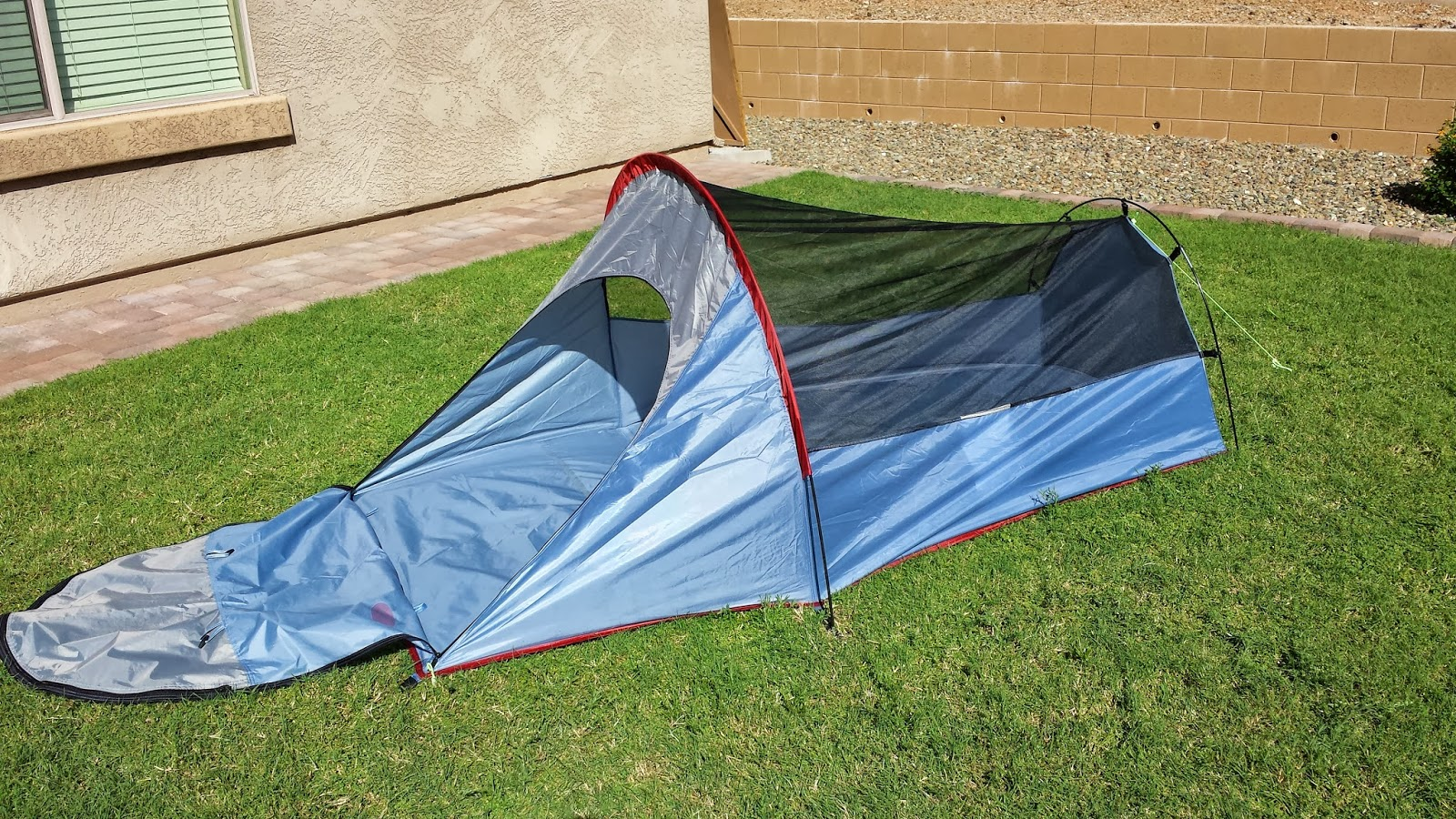 The Texsport Saguaro bivy shelter tent is a great option for long backpacking or biking trips & Texsport Saguaro Bivy Shelter Tent