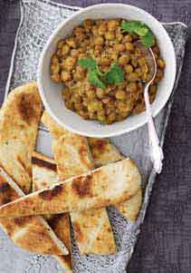 Lime and coconut dal