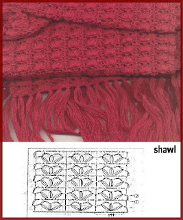 new rectangular knitting shawl patterns