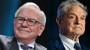 Warren Buffett y George Soros