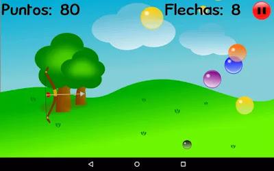 Tiro con arco Burbujas gratis en android.jpg