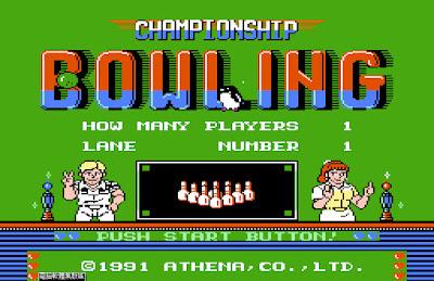 【FC】保齡球大戰(Bowling)+Rom下載,懷舊任天堂運動遊戲!