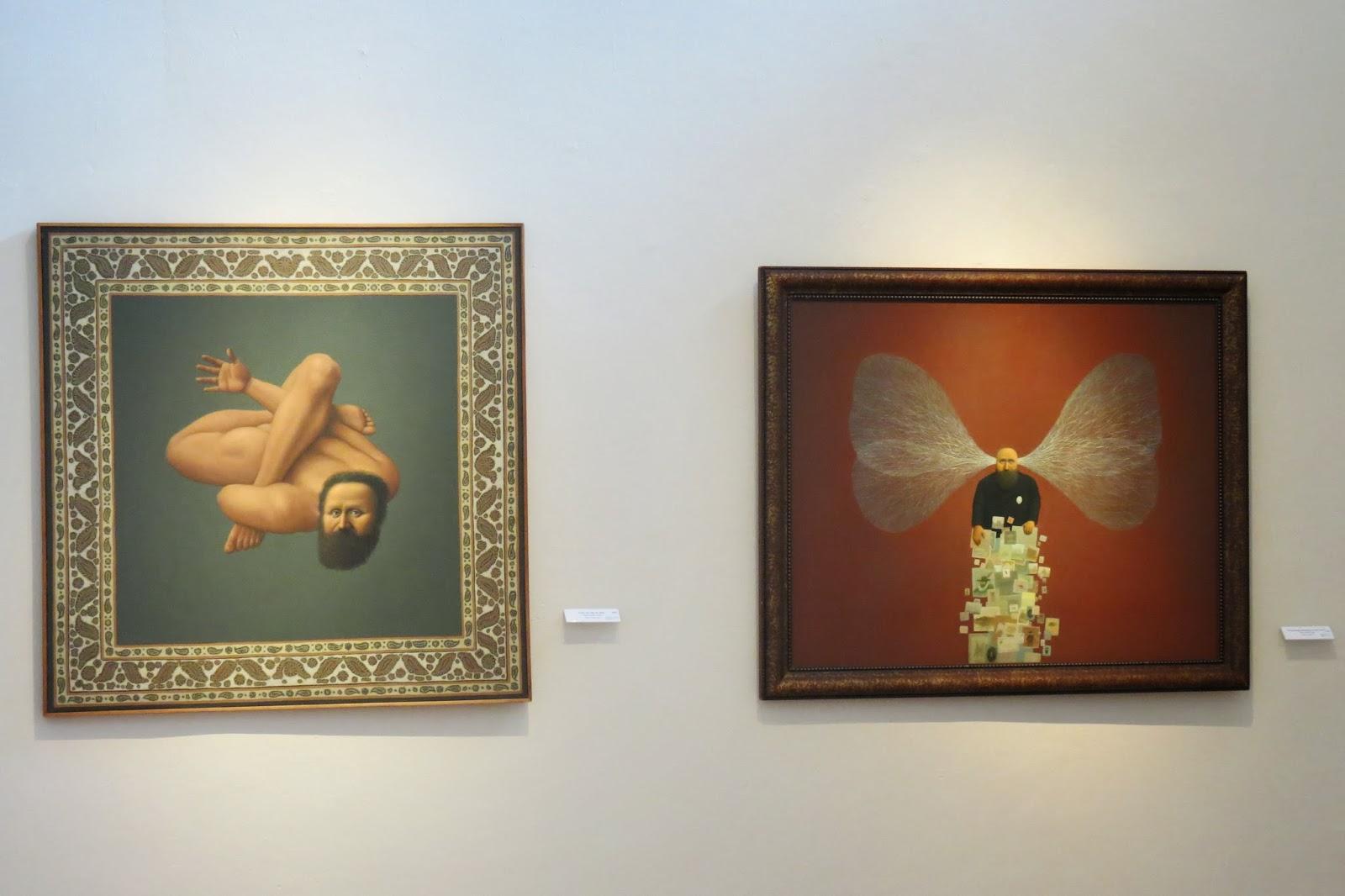 Pintura y escultura el surrealismo de alfredo casta eda - Donde estudiar pintura ...