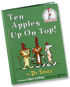 ten apples on top