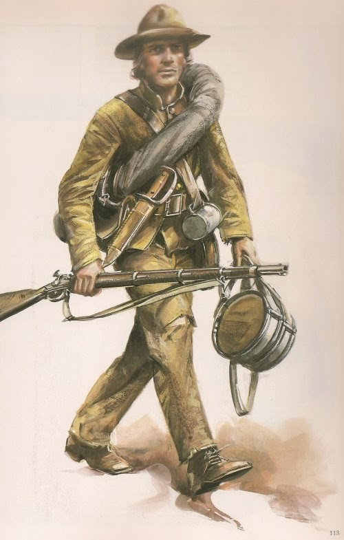Confederate Infantry man picture 2