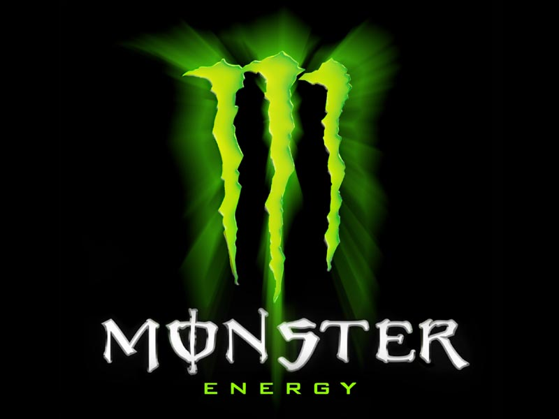 Red Monster Energy Drink Logo