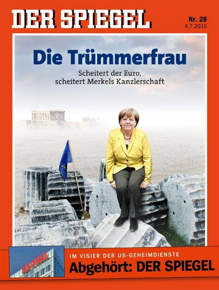 Der Spiegel για την «ώρα της κρίσης» Η Μέρκελ ως «κυρία των ερειπίων»