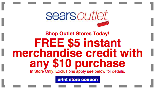 Sears Outlet Coupon