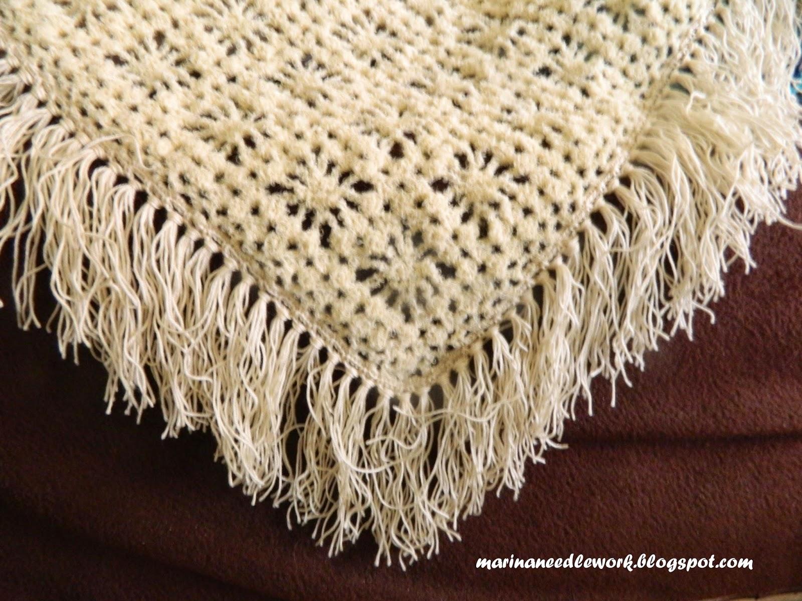 Как делать кисти к шали - Вязание Крючком. Блог 18